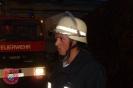 Brand Rindenmulchhaufen