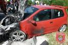 Einsatz Nr. 38/2014: Auto fängt nach Unfall Feuer