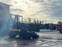 Einsatz Nr.48/2021: Hoher Schaden bei Brand auf Hof